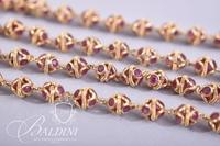 18Kt. Gold Ruby Necklace