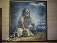 Large Oil on Canvas Painting Signed Chen.Han.Aing