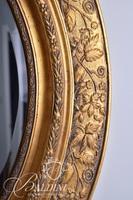 Gilded Mirror with Cherub Accents