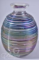 Swirled Art Glass Perfume with Glass Stopper