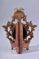 Early 1800's Small Dimensional Gilt Carved Acanthus Leaf Frame with Portrait