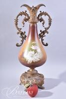 Hand Painted Ewer with Figural Designs