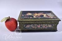 Hand Painted Lacquered Box