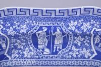 Spode Blue and White Dish - Signed