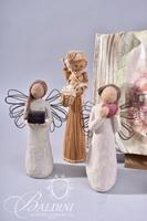 (4) Willow Tree Angels, Glass Blown Angel and Other Decor Items