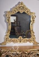 Heavily Carved Rococo Mirror