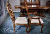 (8) Dining Chairs - Includes (2) Armed and (6) Side