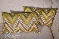 (6) Assorted Throw Pillows