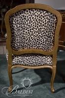 Pulaski Company Leopard Decorator Arm Chair