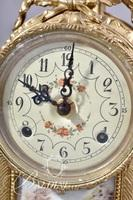 3-Piece Royal Vienna Clock Set Stamped Germany Inside Clock