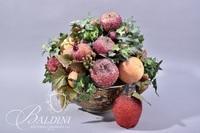 Floral Arrangement in Decorative Bowl