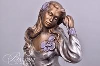 Austin Reclining Woman Sculpture
