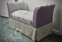 Decorator Custom Upholstered Bench