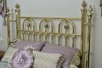 Wesley Solid Brass Bed - Full Size