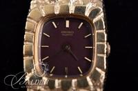 14Kt Yellow Gold Seiko Nugget Watch 26.6 grams (includes weight of watch face)