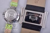 Ann Klein Watch with Green Band and Abalone Chicos Watch