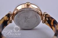 Ann Klein Tortoise Shell Watch and Watch with Red Design