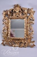 Ornately Carved Rococo Mirror