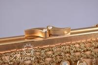 (2) Vintage Evening Bags - Gold Bag Made in Italy