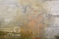 "Darryl Steel ""Dogwood Winter"" Original Oil On Canvas, Artist Signed on Reverse"