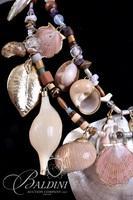 Multi Strand Seashell Statement Necklace