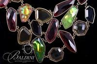 (2) Multi Colored Stone Necklaces