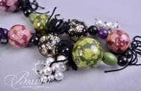 (2) Necklaces - One is a Maya Gemstone Necklace