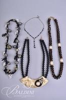 (2) Choker Necklaces and (2) Other Necklaces