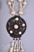 (5) Necklaces with Shells and Medallion