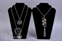 (7) Necklaces with Pendants in Silver and Gold Tones