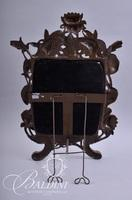 Painted Bronze Deco Mirror - Female is Not Attached