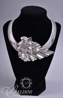 Choker Necklaces with Large Center Accents