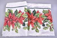 Holiday Linens - (2) Tablecloths, (6) Placemats, (16) Napkins