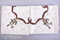 Holiday Lenox Linens - (2) Tablecloths (13) Napkins
