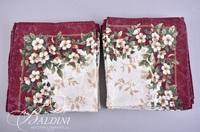 (2) Holiday Tablecloths (13) Napkins
