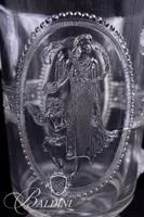 Medallion Crystal Pitcher