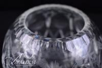 Cut Crystal Rose Bowl