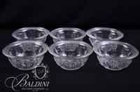 Berry Bowl Set Includes Large Covered Bowl, 6 Berry Bowls and Small Covered Compote