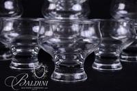 (10) Dessert Bowls and (6) Stemmed Water Glasses