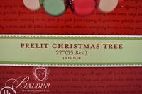 Prelit Tree and Tabletop Decor