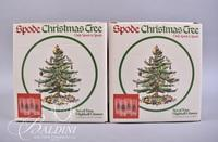 (3) Sets Spode Double Old Fashion Glasses and (2) Sets Spode Highball Glasses (Missing one) NIB