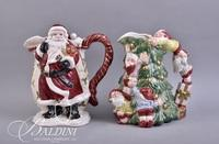 Fitz and Floyd Christmas Pitchers