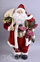 (3) Holiday Christmas Santas