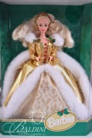 (5) Holiday Barbies NIB