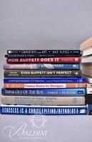 """(31) Books on Finance and Business Including """"How Buffet Does it"""" and """"Think Outside of the Box"""""""