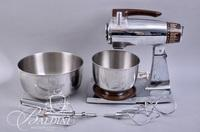 Vintage Sunbeam Mixmaster with Bowls and Attachments