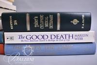 """(13) Books Regarding Health and Nursing Including """"The Good Death""""and """"Quantum Healing"""""""