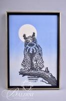 Owl Needlepoint Cross-stitch