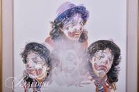 Faces of A Clown Print Kata '86