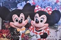 Micky and Minnie Mouse Print